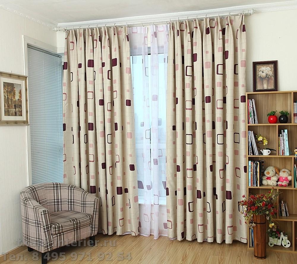 картинки современных штор для зала